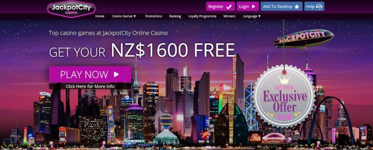 Jackpot City bonus offers